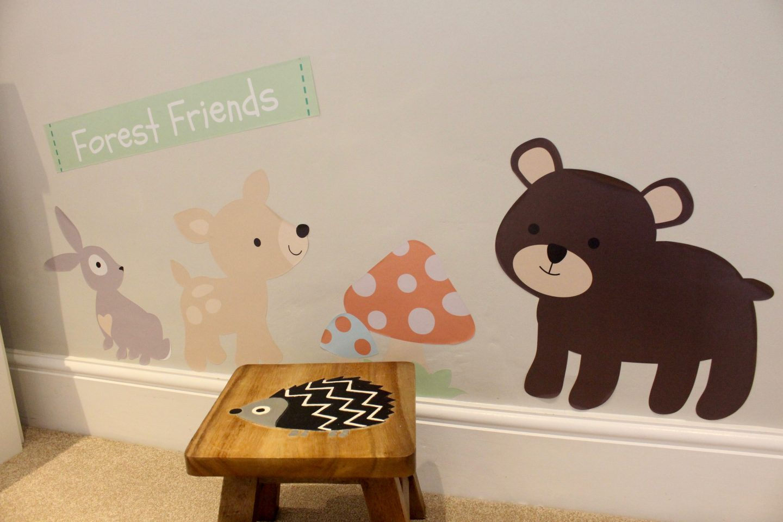 Our Woodland Themed Nursery Tour Including Ikea Hacks
