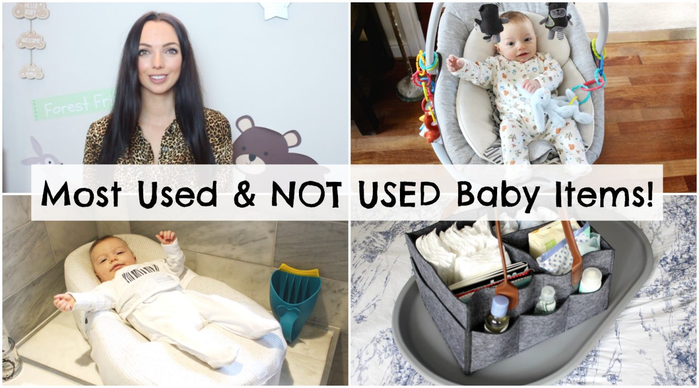 My Useful & NOT Useful Baby Items!