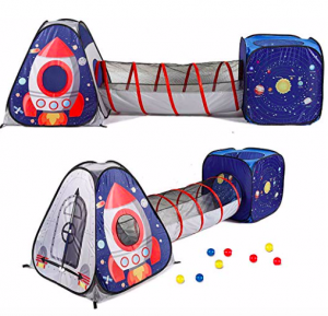 Space Pop Up Tunnel & Tent