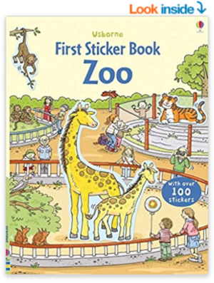 First Sticker Book – Zoo