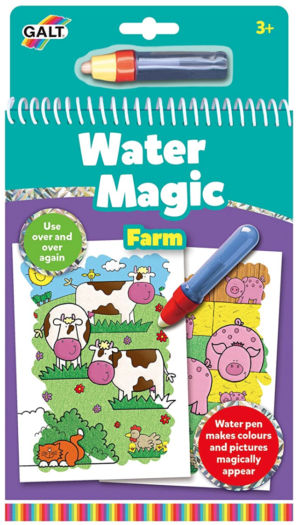 On the Farm Magic Colouring Book!