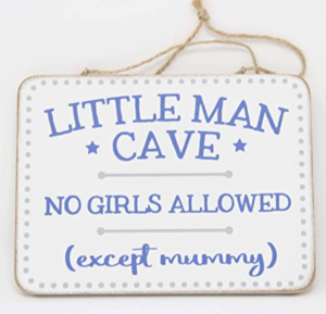 Little Man Cave Sign