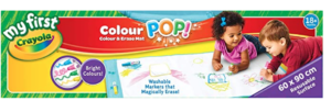 Washable colouring pad