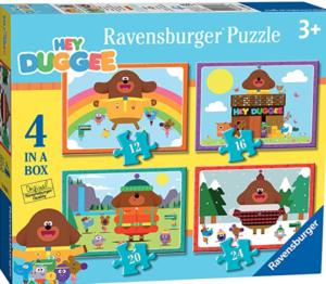 Hey Duggee Jigsaw Puzzles x 4
