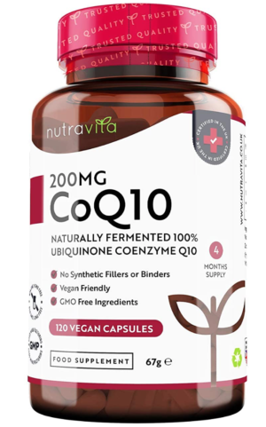 200mg CoQ10 – 4 month supply